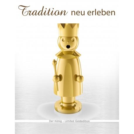 Luxus Räuchermann - CASPAR - Limitierte Gold - Editin