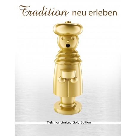 Luxus Räuchermann - Melchior - Limitierte Gold - Editin
