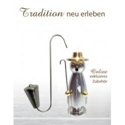 Pfeife -exklusiv Onlinezubehör für Edelstahl Räuchermann