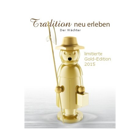 Räuchermann Gold Edition Der Wächter